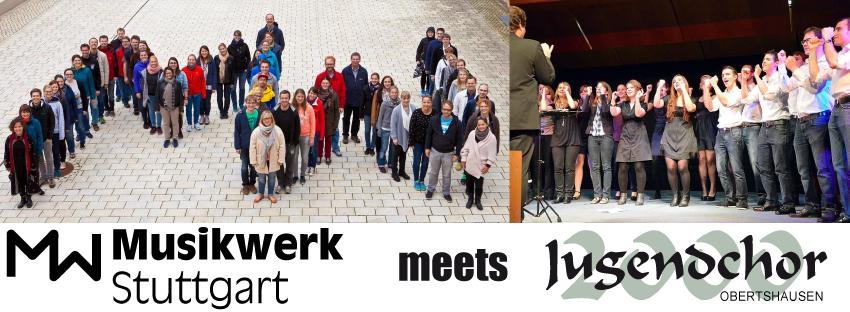 Jugendchor 2000 meets Musikwerk Stuttgart